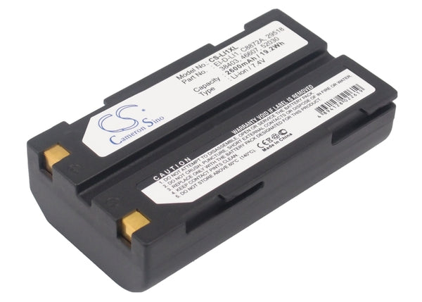 Replacement EI-D-LI1 High Capacity Battery for PENTAX 1821, 29518, 38403