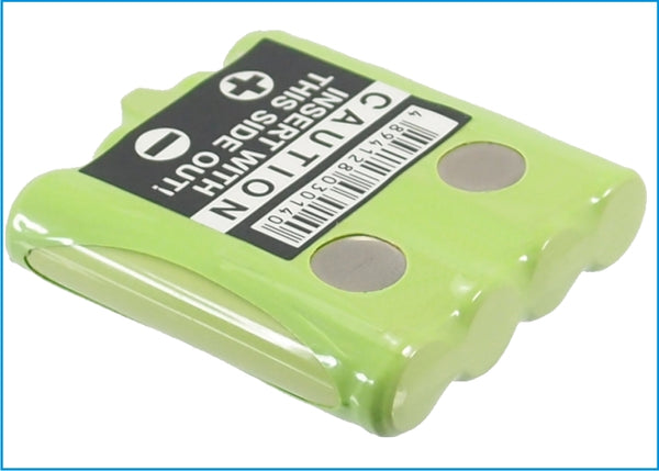 600mAh Ni-MH Replacement Battery Cobra FRS1102MFVP, FRS1102SB, FRS1042 Two way Radio