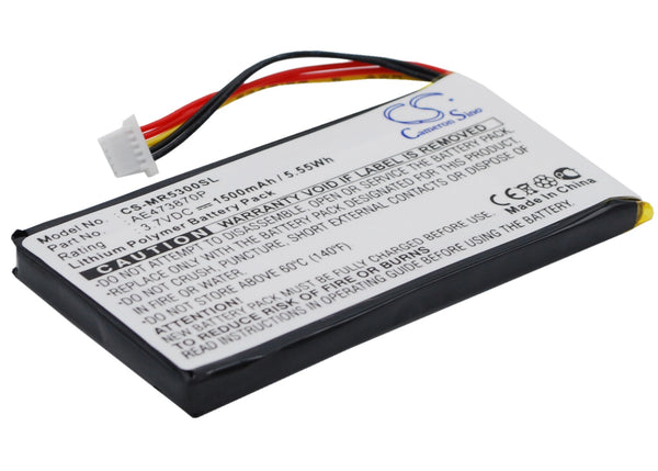 1500mAh Li-Polymer Replacement Battery with Tools for Magellan Maestro 5300