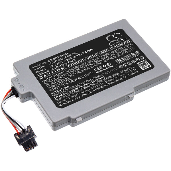 2450mAh ARR-002, WUP-002 Battery for Nintendo Wii U 8G GamePad