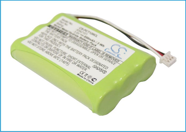 850mAh Battery for Plantronics CT11, CT12 (P/N 6342101 )