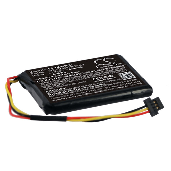 800mAh Battery for TomTom XXL, 340S LIVE XL, One XL 4EG0.001.17 (P/N 6027A0090721, R2)