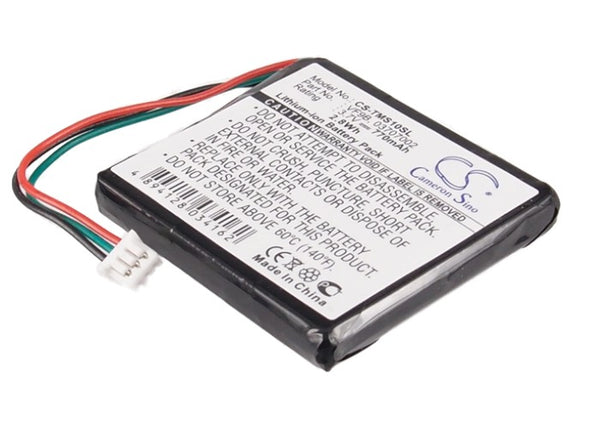 770mAh Li-ion Battery with Tools for TomTom Start, Start2, 1EX00