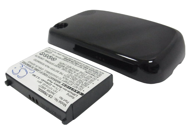 2250mAh High Capacity Battery with cover for Palm Pre Plus, Pre, Treo Pre