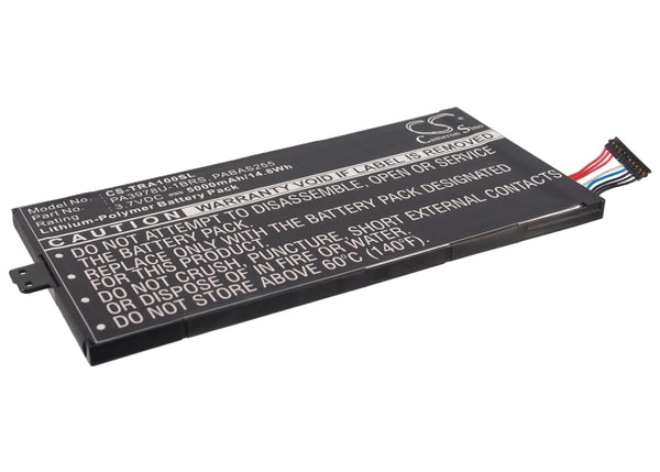 5000mAh PA3978U-1BRS Battery Toshiba Thrive 7, Regza AT1S0 Tablet