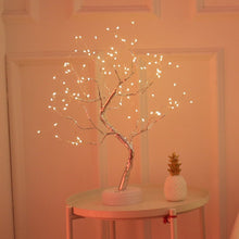 Load image into Gallery viewer, DIY Creative Bonsai LED Night Light USB Colorful Christmas Tree Lights Lamp Touch Switch Starry Fairy Lights For Home Decoration