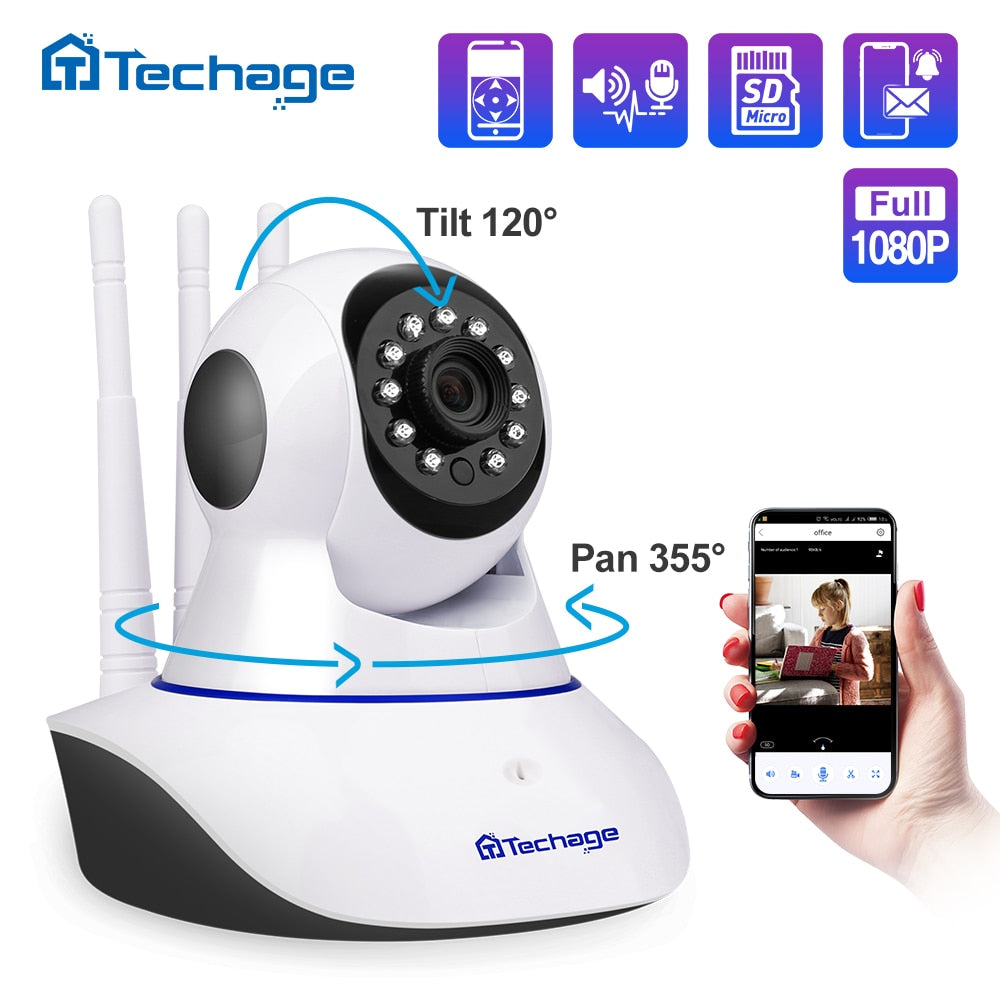 Yoosee Wireless IP Camera 1080P Pan Tilt 2MP Dome Indoor Two Way Audio CCTV WiFi Camera Baby Monitor Video Security Surveillance