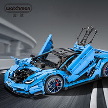 Load image into Gallery viewer, CADA Technic Bricks Car DIY Building Blocks Master the Coolest Toys For Boy Adult Hobby 1:8 Hypercar 770-4 Model Building c61041