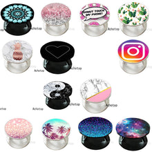 Load image into Gallery viewer, Pop-up Phone Holder Psychedelic Star Swappable Grip Finger Ring for Phones Попсокеты Stretch Pops Pocket Socket Stand попсокет