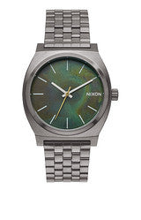 Time Teller Gunmetal/Green Oxyde