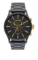 Sentry Chrono Matte Blk/Gold