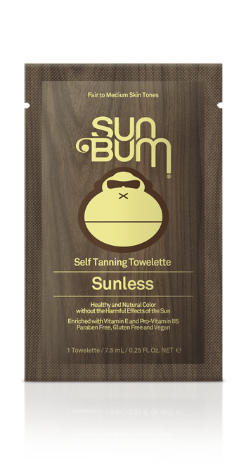 Sunless Tanning Wipes