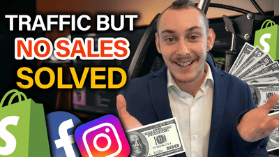 Traffic but no sales *SOLVED* | Shopify Dropshipping