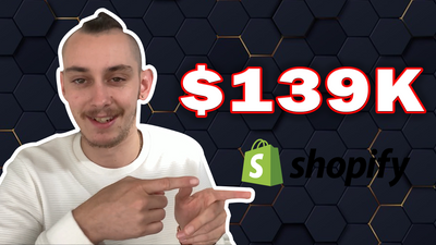 Making $100k + A Year Shopify Dropshipping (CASE STUDY)