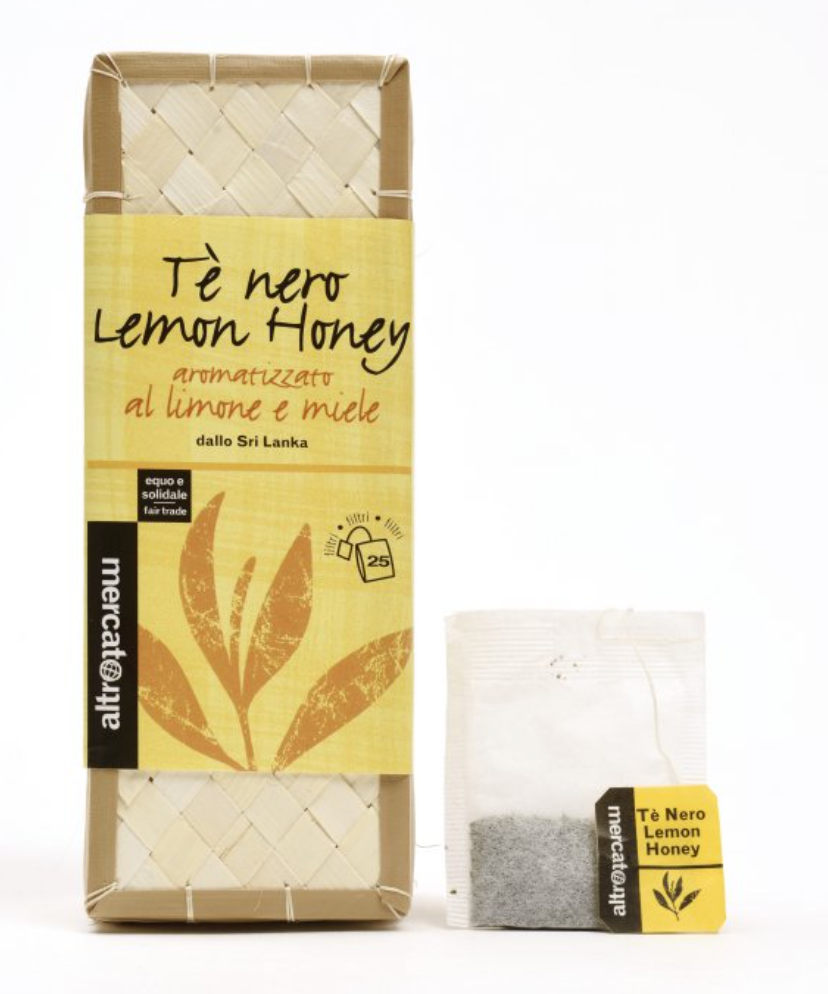 TÈ NERO LEMON HONEY CESTINO IN FILTRI SRI LANKA  COD. 00000807 25 filtri - 37,5 g