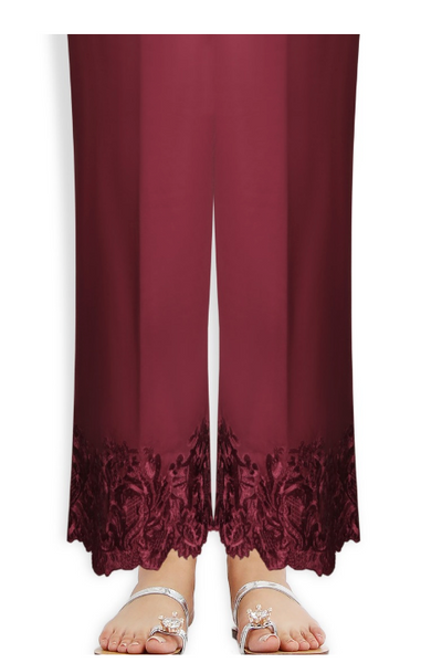 Sana Safinaz Red Culotte pants