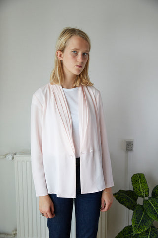 Pale rose jacket