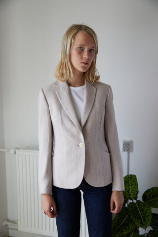 Pale rose blazer