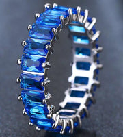 Cubic Zirconia Ring in 9 Color Options