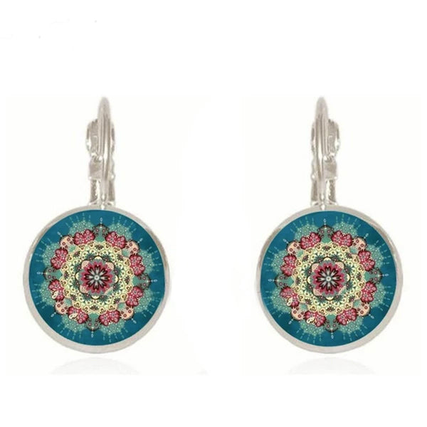 Flower Mandala Earrings