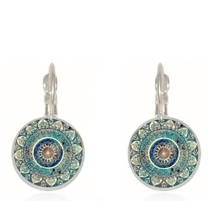 Mandala Earrings - $7 PROMO FREE SHIPPING TODAY ONLY
