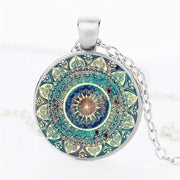 Mandala Pendant Necklace