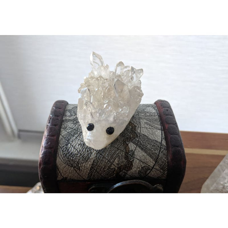 Adopt Me! Quartz Cluster Carved Hedgehog Pet
