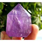 Amethyst Crystal Point Wand