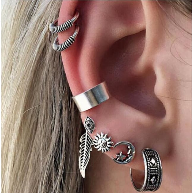 (Clearance) Boho Punk Earring Sets (Multiple Styles Available) - E0259