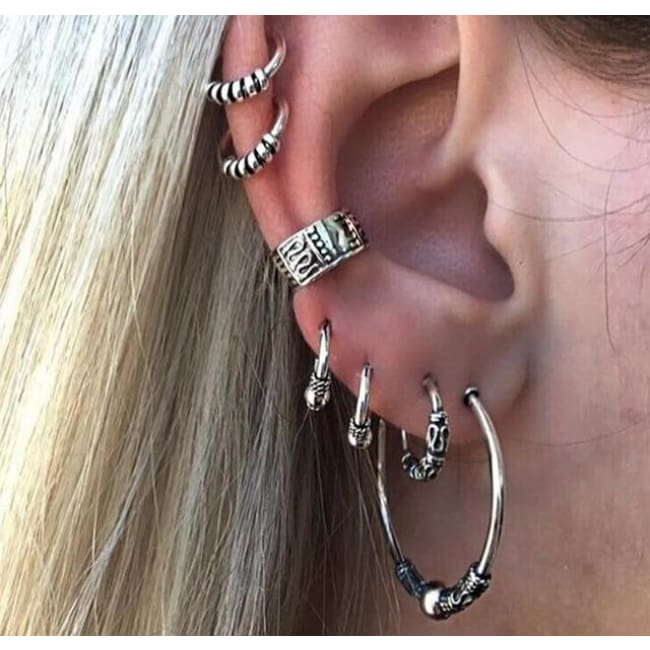 (Clearance) Boho Punk Earring Sets (Multiple Styles Available) - E0263
