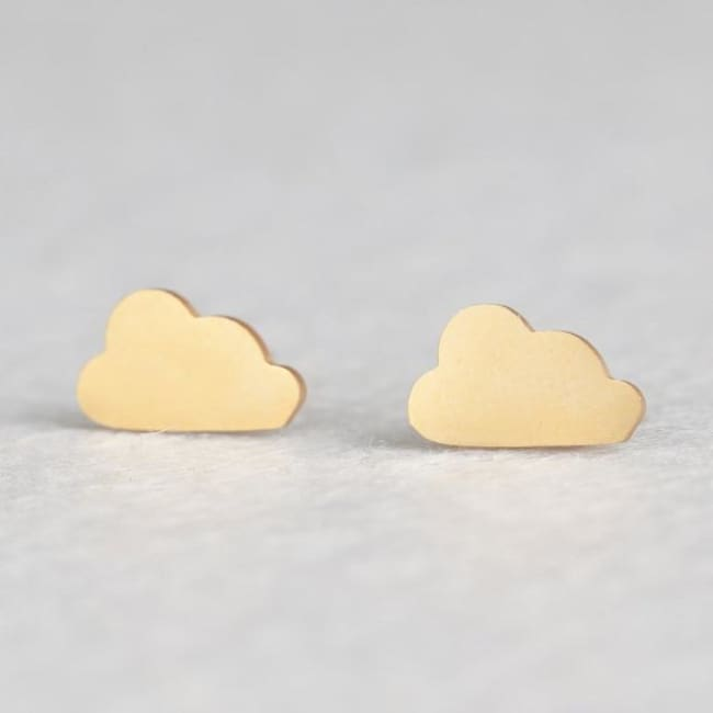 (Clearance) Cute Stud Earrings (16 Styles) - Cloud