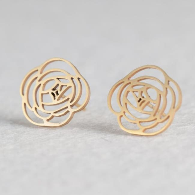 (Clearance) Cute Stud Earrings (16 Styles) - Flower
