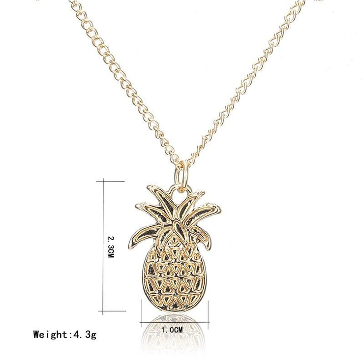 (Clearance) Golden Pineapple Pendant