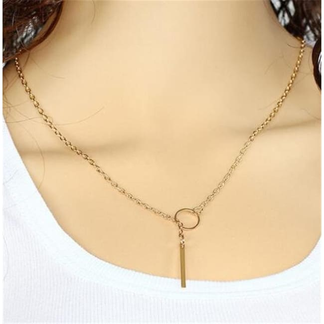 (Clearance) Heart Moon Star Chokers (15 Styles) - O-Jl41Gold