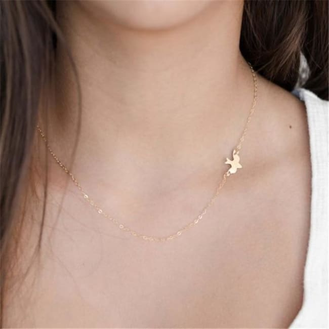 (Clearance) Heart Moon Star Chokers (15 Styles) - O-Jl79Gold