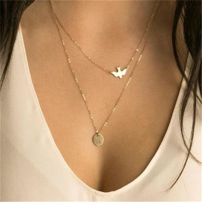 (Clearance) Heart Moon Star Chokers (15 Styles) - O-Nm13