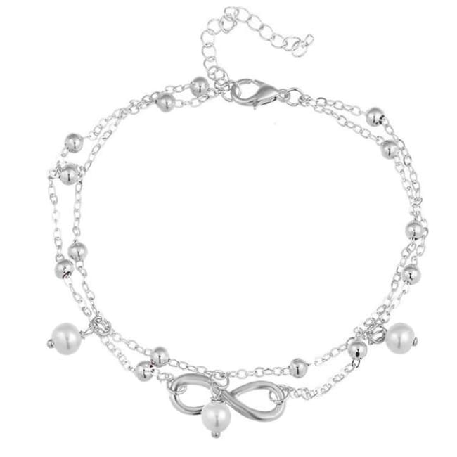 (Clearance) Vintage Star Elephant Anklets (Many Styles To Choose From) - Bjcs051Sliver