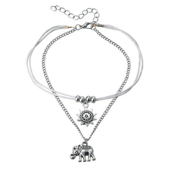 (Clearance) Vintage Star Elephant Anklets (Many Styles To Choose From) - Bjcs725
