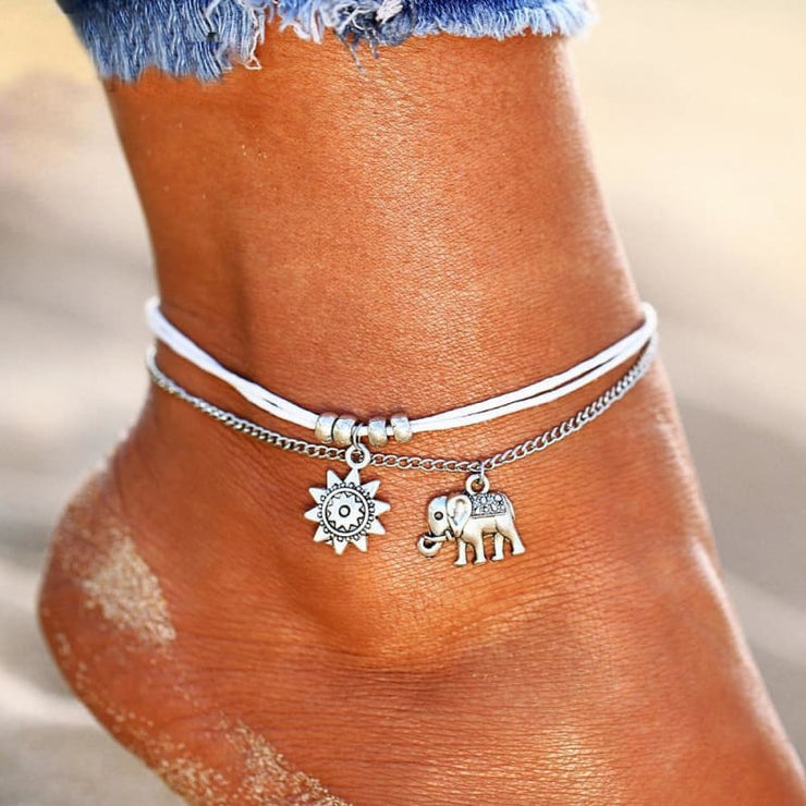(Clearance) Vintage Star Elephant Anklets (Many Styles To Choose From)