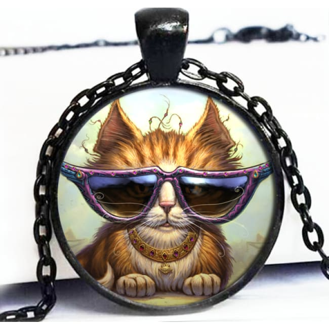 Cool Cat Picto Pendant