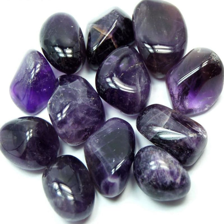 Dream Amethyst Tumbled Stones (100 Grams) (10-20 Stones)
