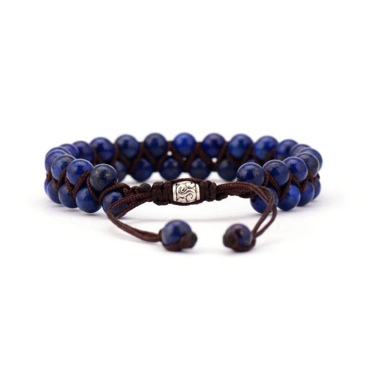 Earth Spirit Braided Woven Natural Stone Bracelet