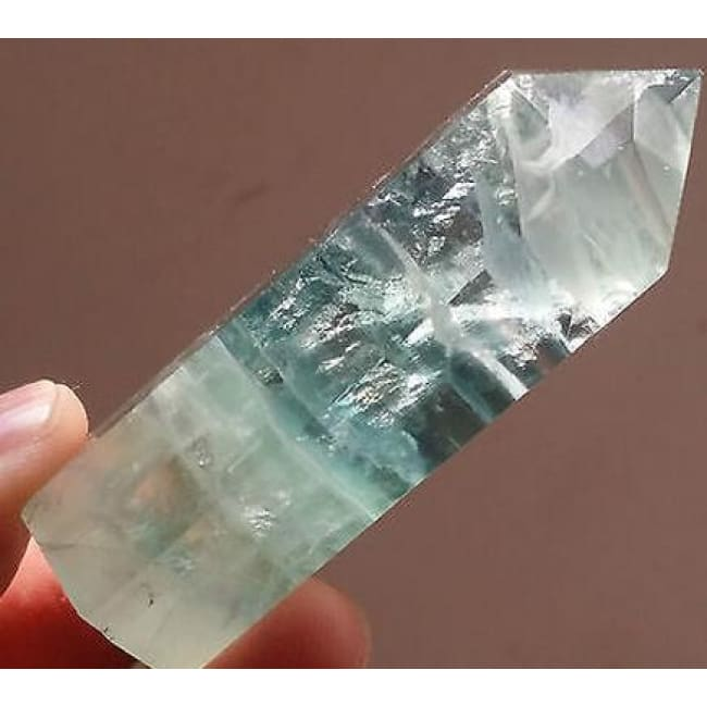 Fluorite Crystal Point Wand