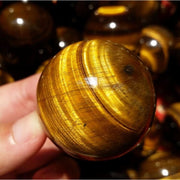 Golden Tiger Eye Healing Crystal Sphere