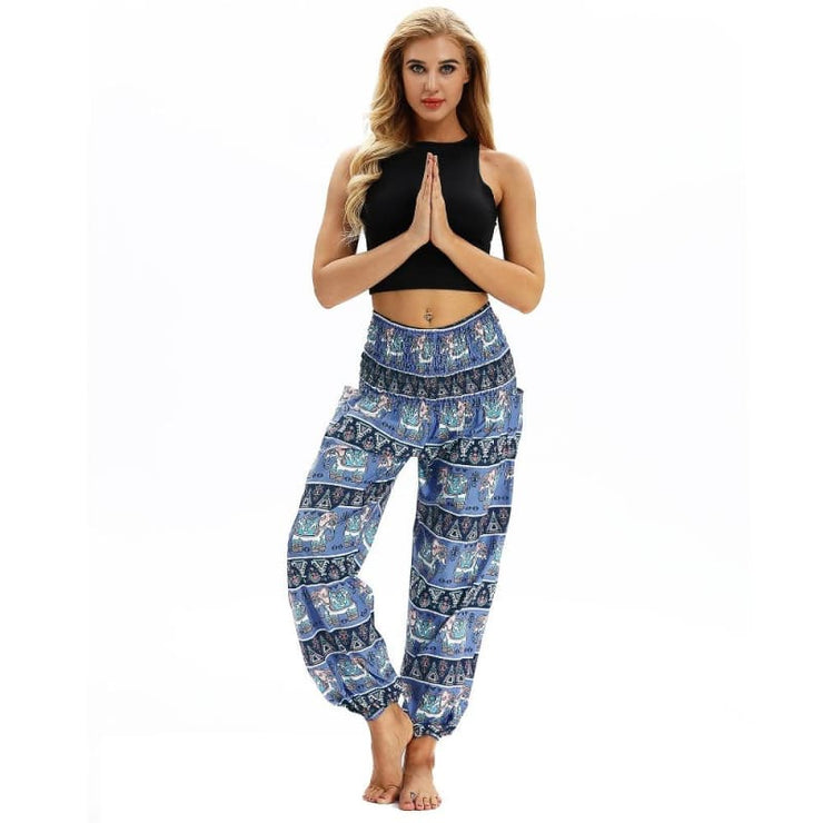 Harem Pants One-Size Fits All So Comfortable!