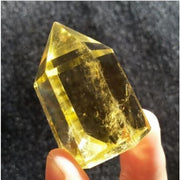 High Quality Citrine Crystal Point