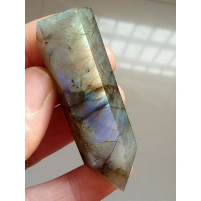 Labradorite Crystal Point Wand