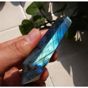 Labradorite Double Point Wand