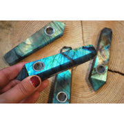 Labradorite Gemstone Pipe