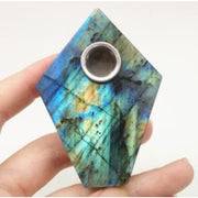 Labradorite Spearhead Pipe